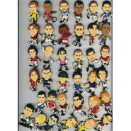Ultra Rare COMPLETE SET 36 Magnets SOCCER PLAYERS 2002-2003 Collection PANINI Italy Bomberini