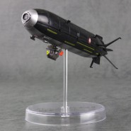 Rare Model 13cm QUEEN EMERALDAS SHIP Version BLACK Trading Figure JAPAN Herlock LEIJI MATSUMOTO Mechanical
