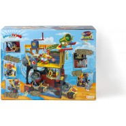 SUPERZINGS Box Playset HEROES HEADQUARTERS 3 FIGURES With Sounds ORIGINAL Super Zings Rivals of Kaboom