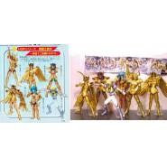 RARE Complete Set 6 Figures Saint Seiya Original Gashapon Figure Part 3 BANDAI