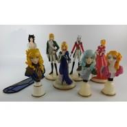 LADY OSCAR Rare SET 9 Trading Figures FURUTA JAPAN Roses of Versailles