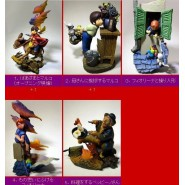 PIZZA MARCO World Masterpiece Theater RARE SET 5 Trading Figures HORICO JAPAN