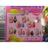 BARBAPAPA' Complete Set 10 Mini Figures 3cm 35 Anniversary Gashapon Kabaya