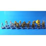 RARE Complete Set 18 Mini Figures BOTTLE CAPS Saint Seiya Original Gashapon BANDAI JAPAN