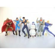 Rare COMPLETE SET 6 Figures 8cm KEN SHIRO PART 1 Bandai JAPAN Gashapon