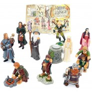 Complete Set 10 Figures THE LORD OF THE RINGS Serie KINDER FERRERO Choco Eggs GERMANY