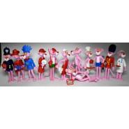 Complete Set 12 Figures PINK PANTHER Serie KINDER FERRERO
