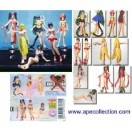 Set 6 Figures GUILTY X GEAR PART 1 Sexy Girls SR SERIES Original YUJIN JAPAN