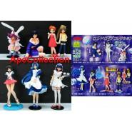 RONDO KOBE Rare Set 7 Figures 9cm Gashapon YUJIN Japan NEW MINT