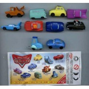 COMPLETE SET 10 Mini Figures 3cm CARS Original ZAINI Italy