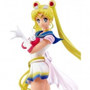 Figure Statue 23cm SUPER SAILOR MOON Version A from ETERNAL MOVIE Serie GLITTER GLAMOURS BANPRESTO Bandai