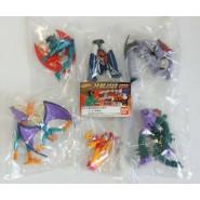 RARE Complete Set 6 Figures MAZINGER and DEVILMAN Gashapon BANDAI Japan