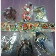 RARE Complete Set 6 Figures KAMEN RIDER PART 12 Gashapon BANDAI Japan
