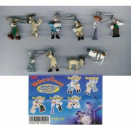 RARE Complete Set 5 Couples of MINI Figures WALLACE and GROMIT Gashapon YUJIN Japan