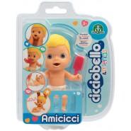 Figure Doll AMICICCI Version BLONDE Name CICCIOBELLO Blister Original Giochi Preziosi CICCIOBELLO Friend