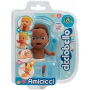 Figure Doll AMICICCI Version AFRO Name CICCIOJEAN Jean Blister Original Giochi Preziosi CICCIOBELLO Friends