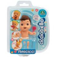 Figure Doll AMICICCI Version BROWN HAIR Name CICCIOLEL Leo Blister Original Giochi Preziosi CICCIOBELLO Friends
