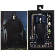 ULTIMATE GHOST FACE Action Figure 18cm With Accessories Scream Original NECA 81120