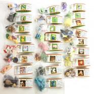 RARE Complete SET 24 MINI FIGURES DISNEY CHOCO PARTY Part 4 ORIGINAL Furuta Tomy JAPAN