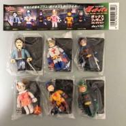 RARE Complete Set 6 MINI Figures GATCHAMAN Box Figure Collection Gashapon YUJIN Japan
