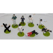 HOLLY and BENJI Captain Tsubasa Set 8 Mini Plastic Figures