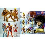 SAINT SEIYA Rare SET 6 Figures PART 6 Bandai Japan GASHAPON