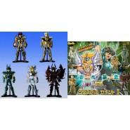 SAINT SEIYA Rare SET 6 Figures CLOTH UP PART 2 Bandai Japan GASHAPON
