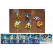 SAINT SEIYA Rare SET 6 Figures MAXI COLLECTION PART 2 Bandai GASHAPON
