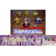 SAINT SEIYA Rare SET 6 Figures MAXI COLLECTION PART 3 Bandai GASHAPON