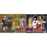 Rare COMPLETE SET 5 Figures BATTLESHIP YAMATO Bandai JAPAN Gashapon