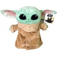 Plush 25cm BABY YODA Star Wars Mandalorian ORIGINALE Disney Play By Play