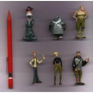 RARO Set 6 Figures ATLANTIS DISNEY Originali PANINI Trading Figures