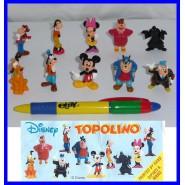 RARO Complete Set 10 Mini Figures 3cm Mickey Mouse MINNIE DISNEY ZAINI
