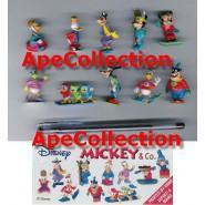 RARO Complete Set 10 Mini Figures 3cm Mickey &Co. Donald Duck Winter Dress DISNEY ZAINI