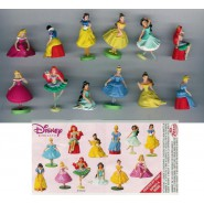 RARO Complete Set 12 Mini Figures 3cm Mickey & Co. Donald Duck Football And Balls DISNEY ZAINI
