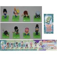Set 8 Figures NARUTO Ninja Collection KONOHA 4cm BANDAI GashaponI !!