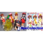 Rare SET 6 Figures SAKURA CARD CAPTOR PART 2 Manga Anime JAPAN Originali BANDAI Gashapon