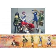 RARE Set 6 Figures SHAKUGAN NO SHANA Original YUJIN Giappone Gashapon