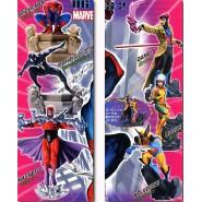 Rare SET 6 Figures MARVEL SUPER HEROES PART 2 Original BANDAI Gashapon JAPAN Spiderman Wolverine etc.