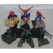 Rare SET 6 Figures SPIDERMAN MAXI COLLECTION Original BANDAI Gashapon