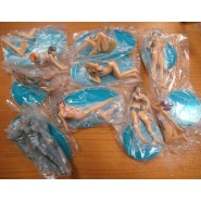 RARE COMPLETE SET 8 Characters And Secret Character Silver Zach DEAD OR ALIVE Xtreme Beach Volley Kotobukiya
