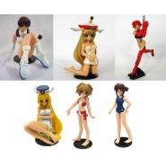 COMPLETE SET 6 Figures Characters SR Toshiba Entertainment Gals Collection Daphne in the Brilliant Light Tenbatsu Angel Rabbie