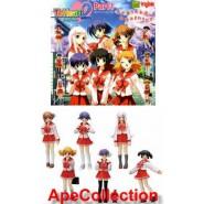 Rare SET 6 Figures TO HEART PART 2  Manga Anime JAPAN Originali BANDAI Gashapon