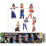 Rare SET 6 Figures KING OF FIGHTERS KOF PART 1 Retro Videogames JAPAN Originali YUJIN Gashapon