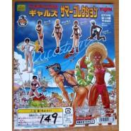Rare SET 6 Figures CAPCOM BIKINI GIRSL GALS Retro Videogames JAPAN Originali YUJIN Gashapon