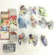 SET 10 Figures DRAGONBALL GT Soul Of Hyper Figuration PART 2 Version COLORED And Special Figure Original BANDAI Gashapon