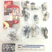 COMPLETE SET 9 Figures DRAGONBALL GT Soul Of Hyper Figuration PART 2 Version GREY With Dragon Original BANDAI