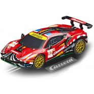 Model FERRARI 488 GTE Scale 1:43 10cm Track CARRERA GO 20064179
