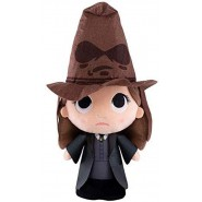 SuperCutie PLUSH 30cm HERMIONE GRANGER WITH SORTING HAT from Harry Potter Top Quality ORIGINAL FUNKO