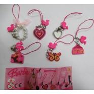 6 Keychain Dangler Barbie Face